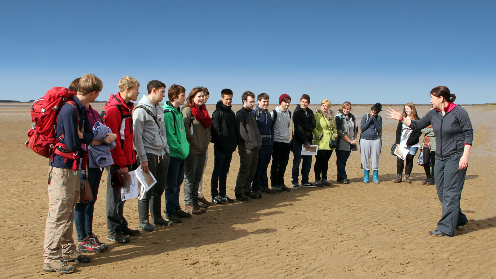GeoHub students on field trip