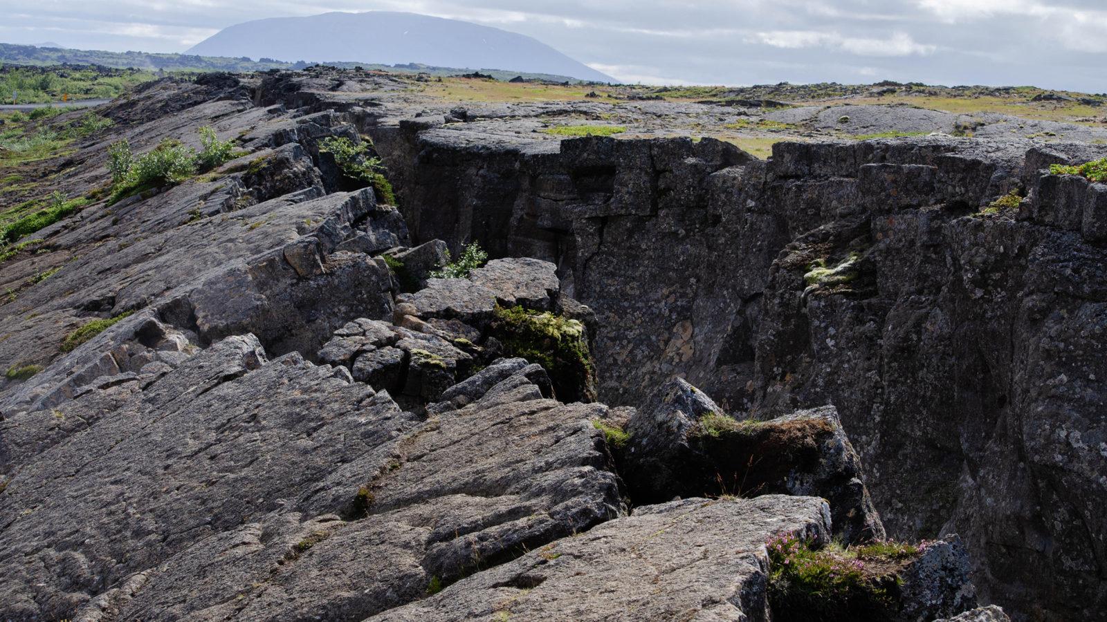 Banner Rift Zone Iceland