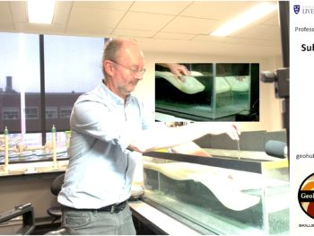 Professor John Wheeler simulates the formation of a subduction zone