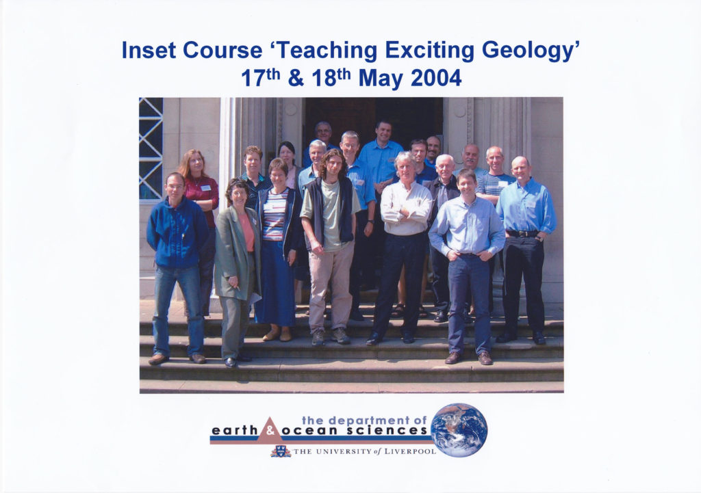 Inset Course 'Teaching Exciting Geology' May 2004