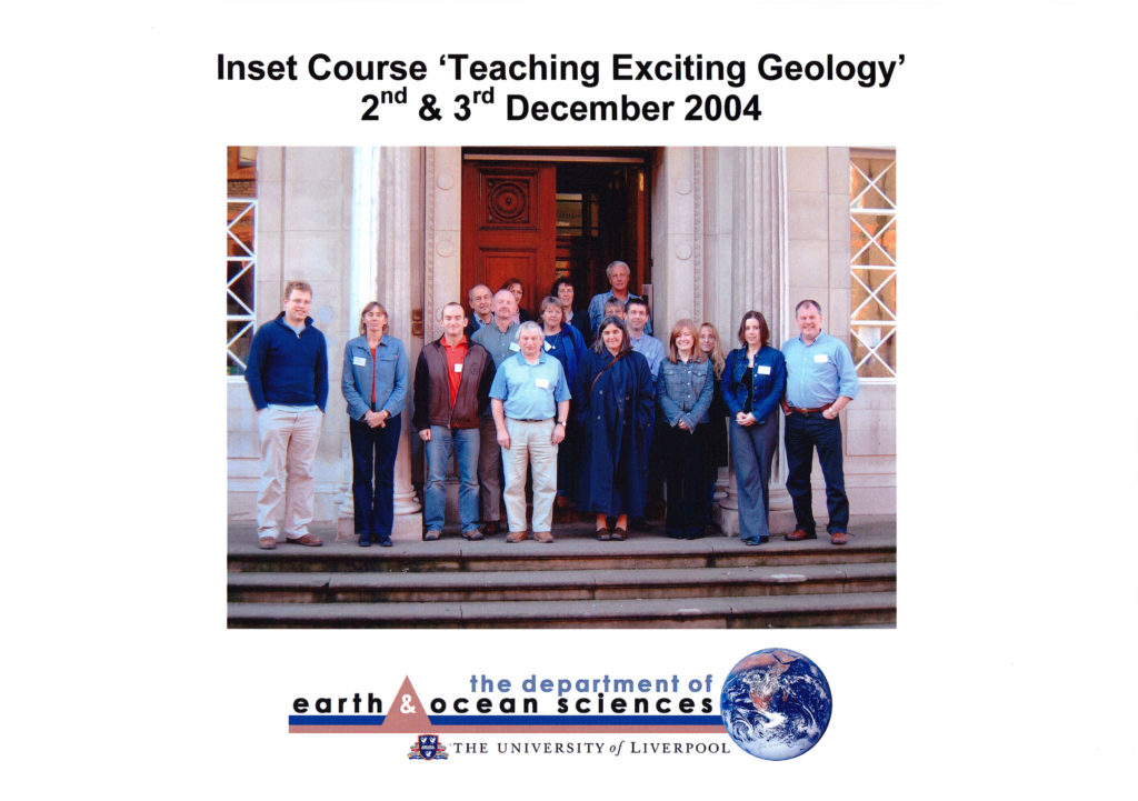 Inset Course 'Teaching Exciting Geology' December 2004