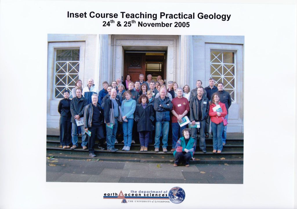 Inset Course 'Teaching Practical Geology' November 2005