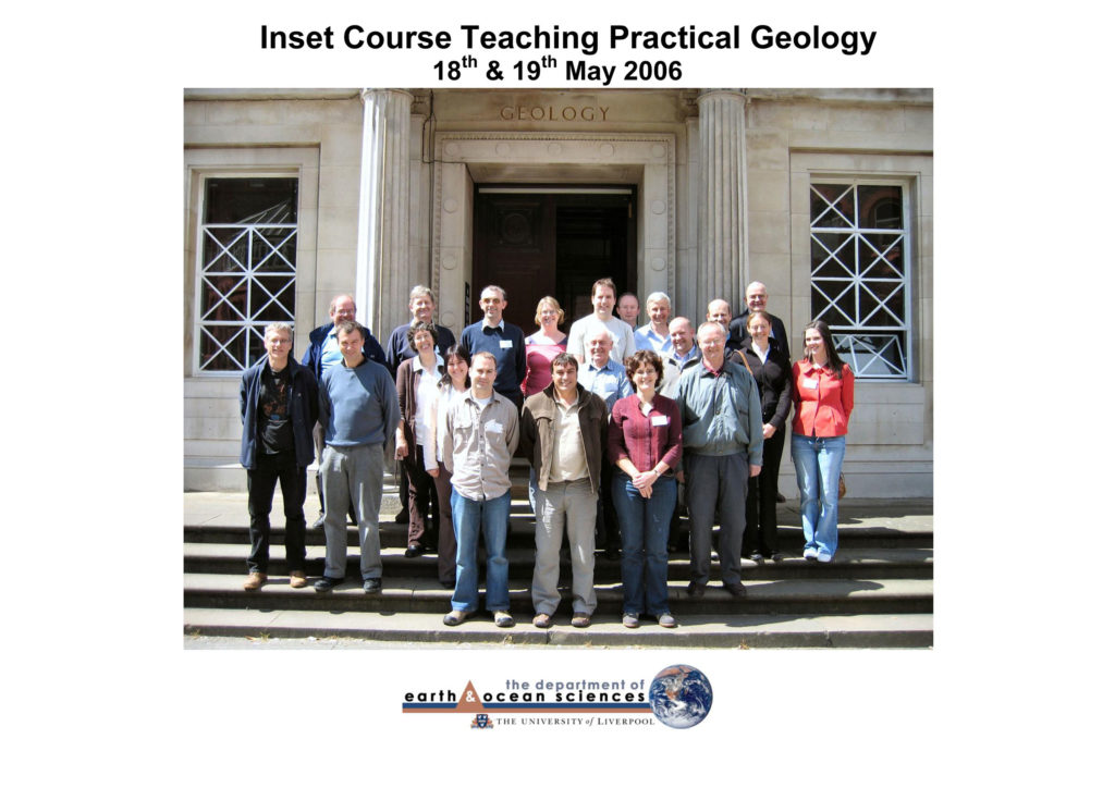 Inset Course 'Teaching Practical Geology' May 2006