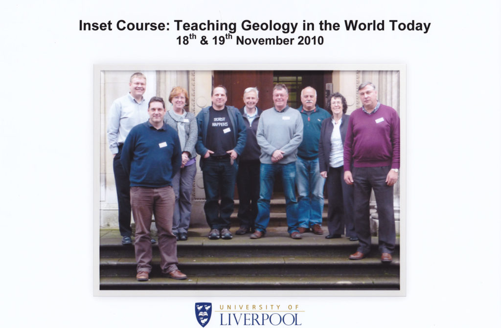Inset Course 'Teaching Geology in the World Today' November 2010