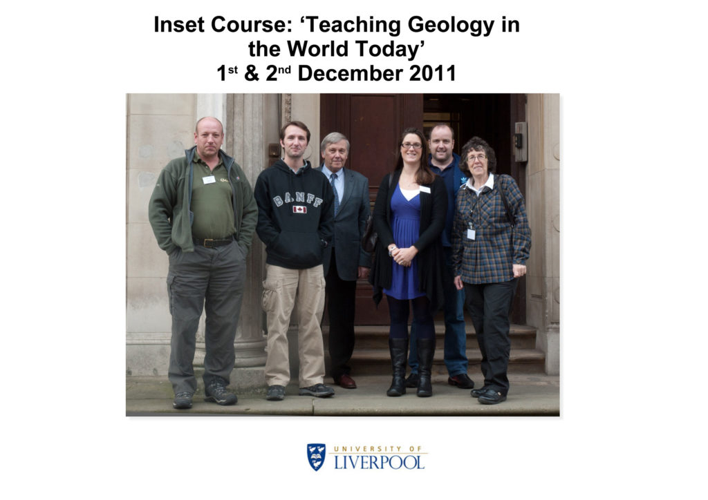 Inset Course 'Teaching Geology in the World Today' December 2011