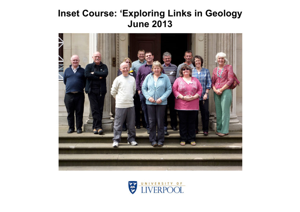 Inset Course 'Exploring Links in Geology' June 2013