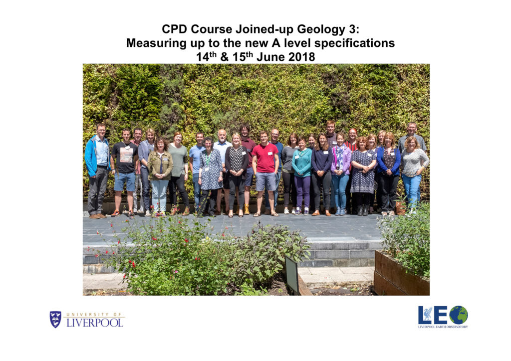 CPD Course Joined-up Geology 3: Measuring up to the new A level specifications - June 2018