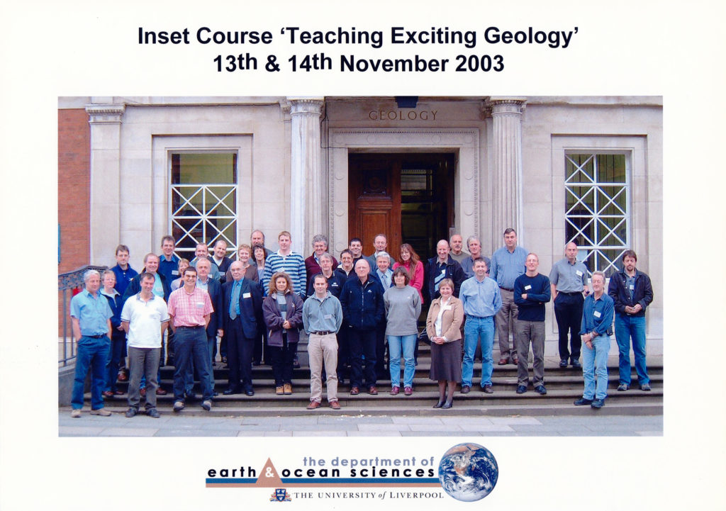 Inset Course 'Teaching Exciting Geology' November 2003