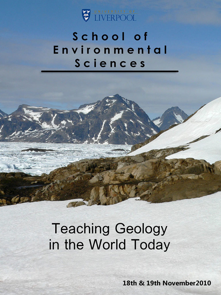 Teaching geology in the world today - 2010
